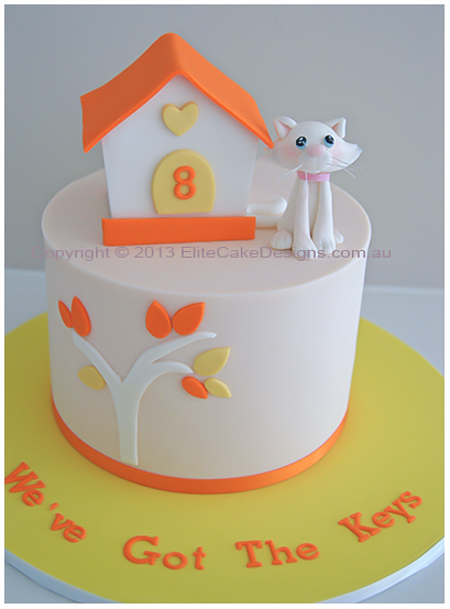 Kitchen Cake Design